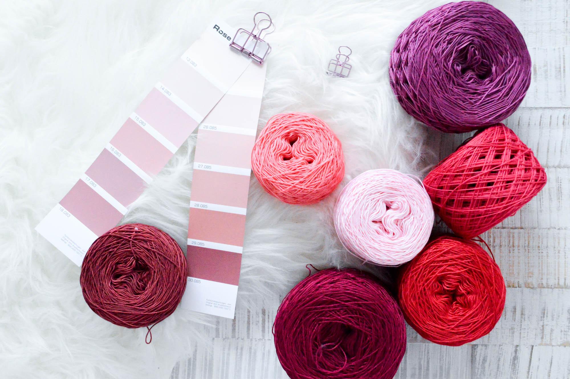 Wolle einfach selbst Färben mit Simplicol