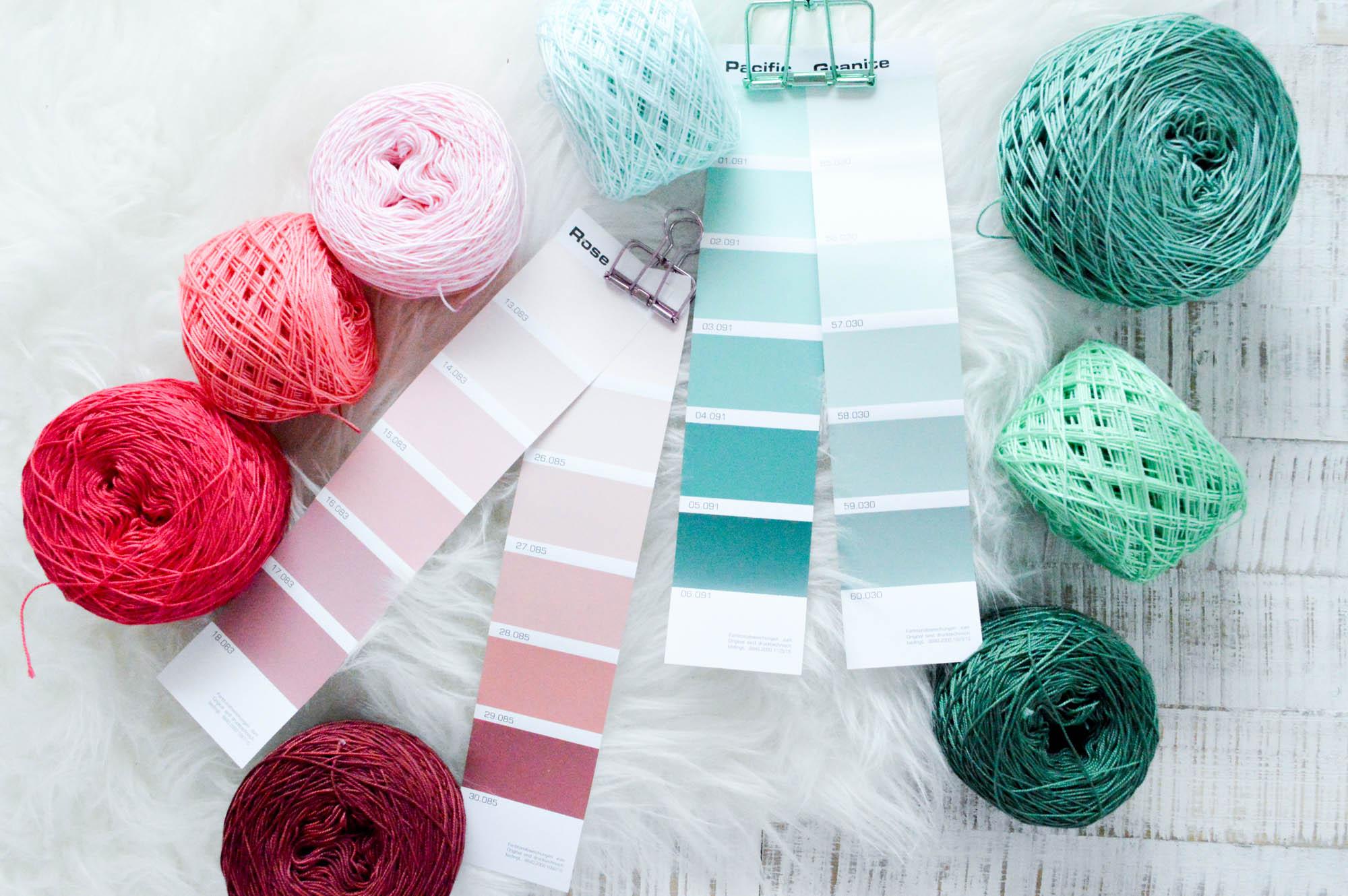 Wolle selbst färben mit Simplicol