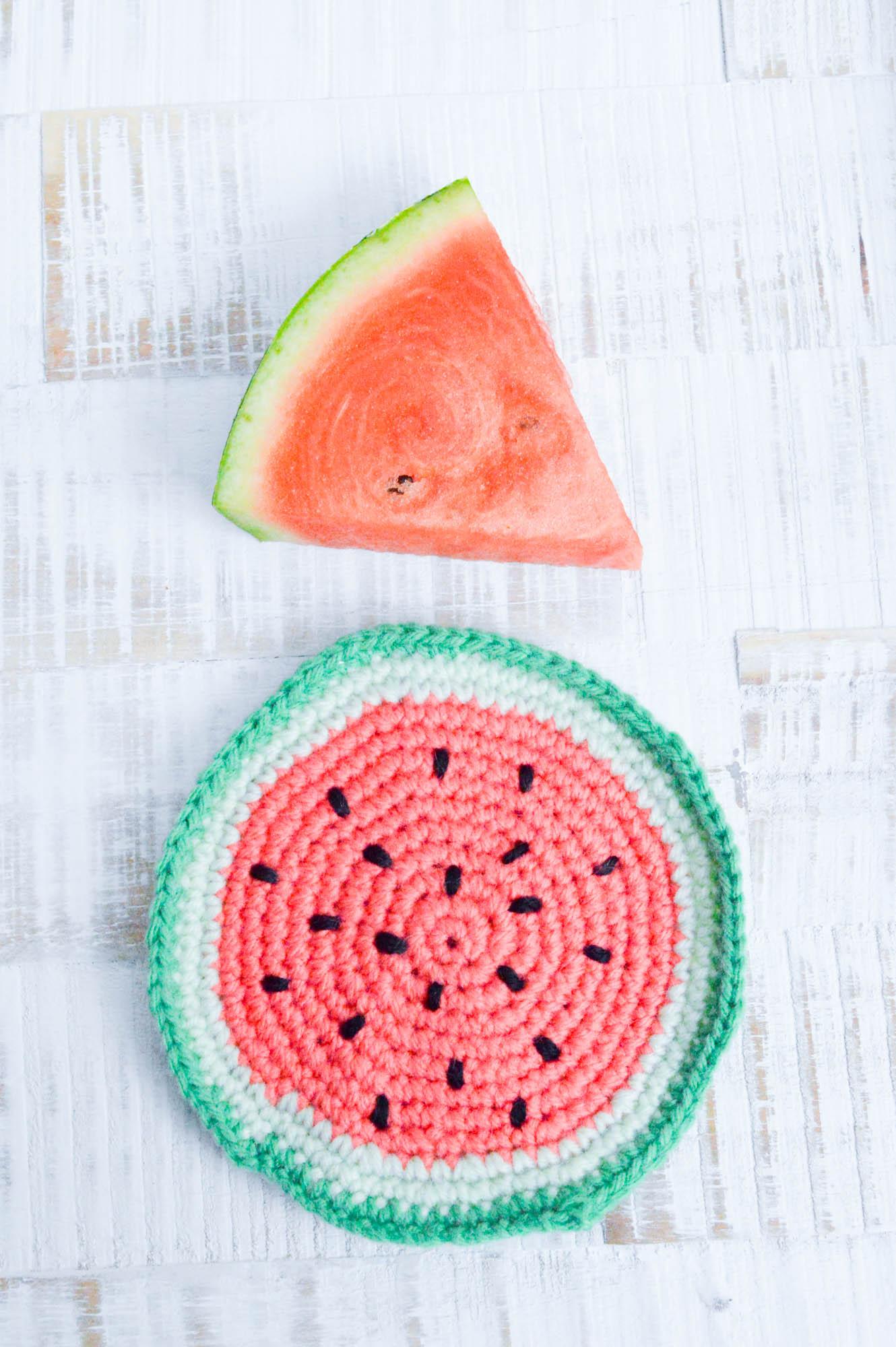 kostenlose Häkelanleitungen für Wassermelonen