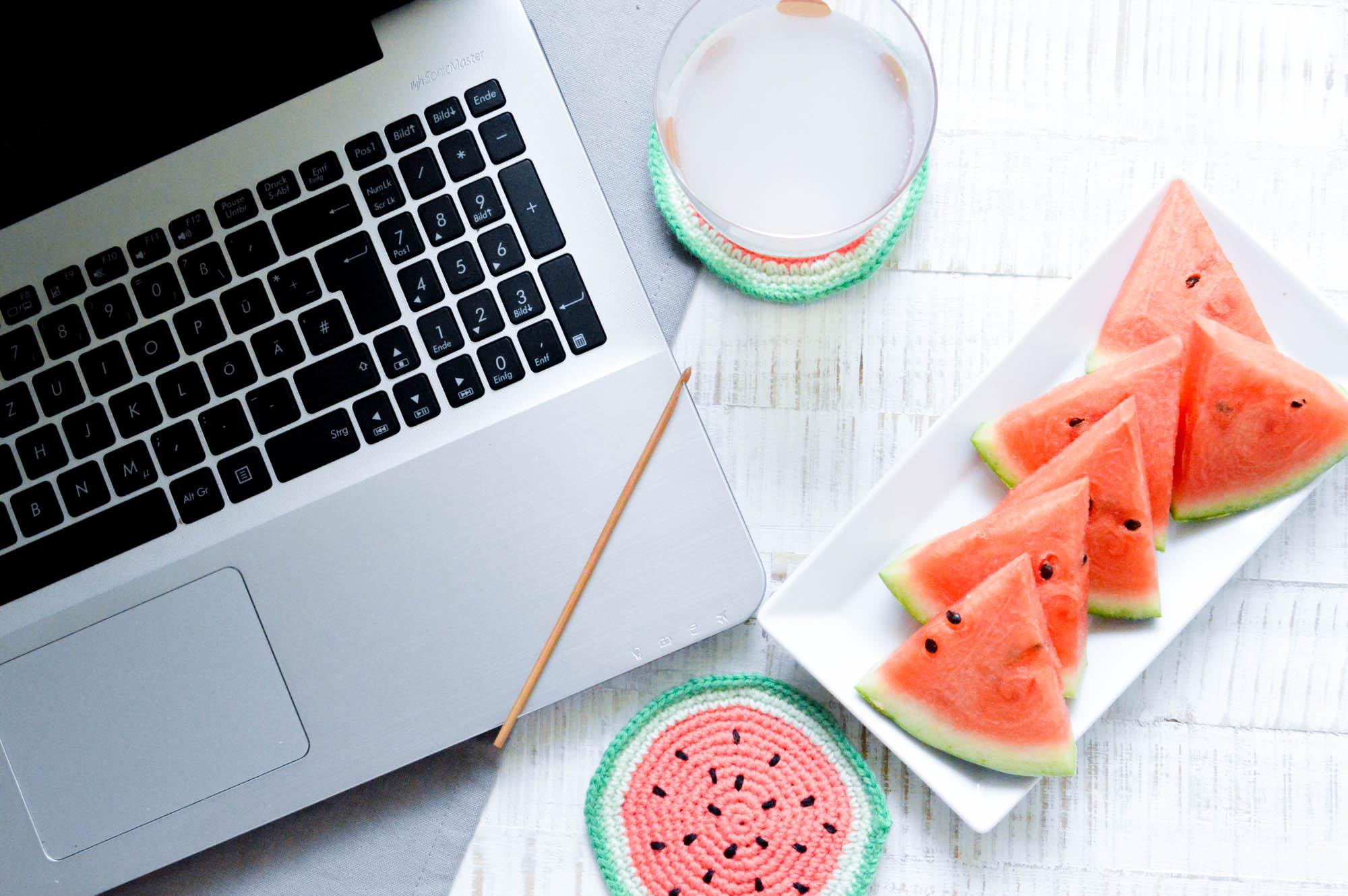 Wassermelonen Häkelanleitungen
