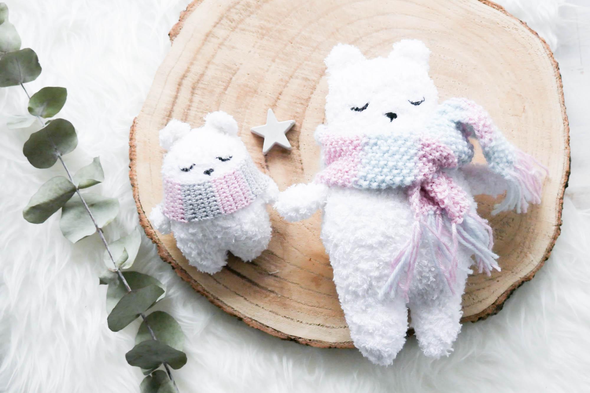 Eisbär Amigurumi Häkeln Mein Gehäkeltes Herz