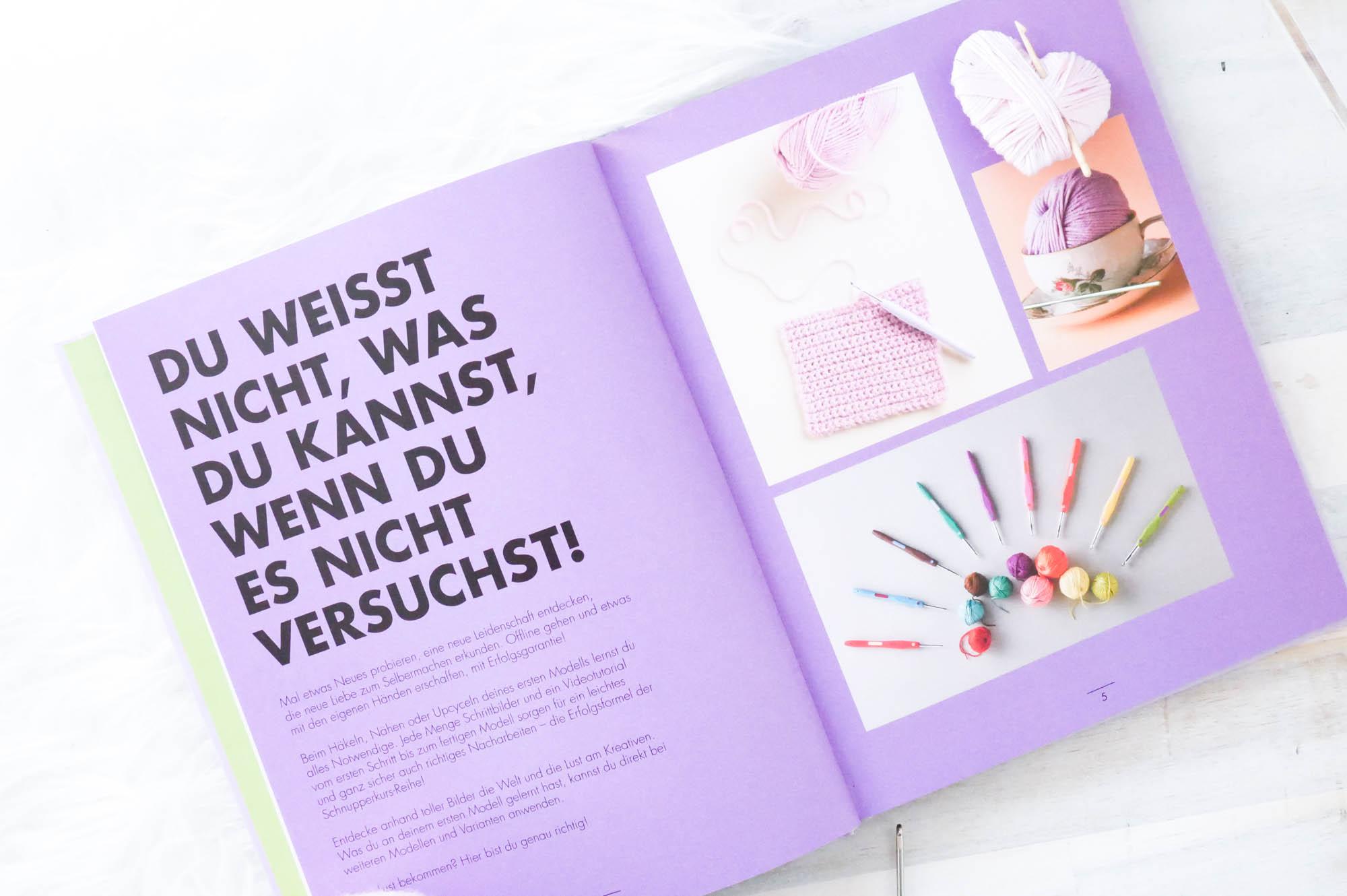 Schnupperkurs Häkeln- Buchvorstellung mit Interview mit Fanny