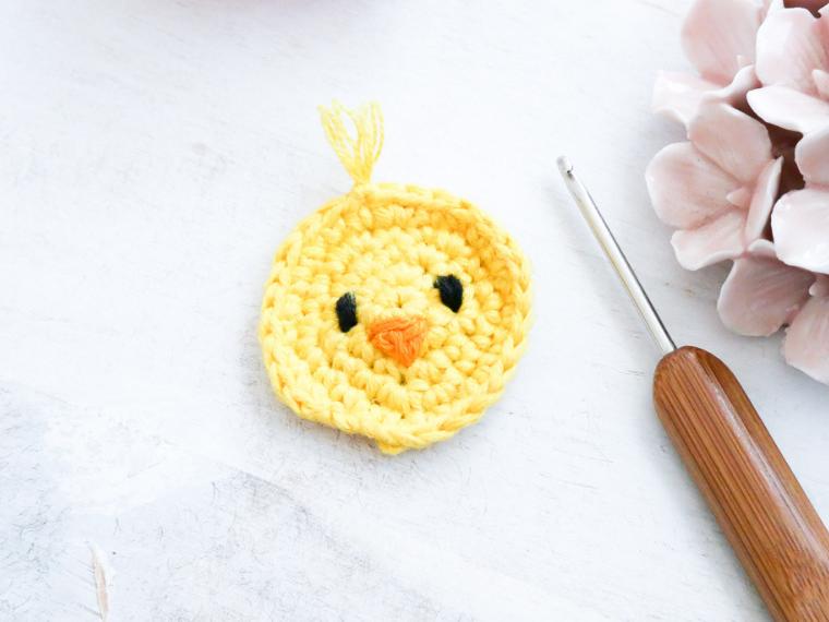Schnelles 10 Minuten Oster-DIY- Osterküken häkeln