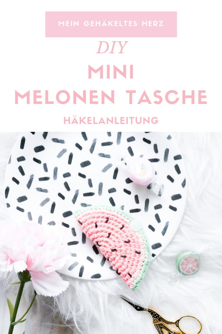 Melonentasche- kostenlose Häkelanleitung von Mein gehäekltes Herz