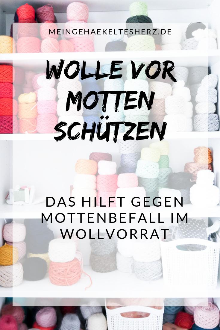 Motten in der Wolle verhindern