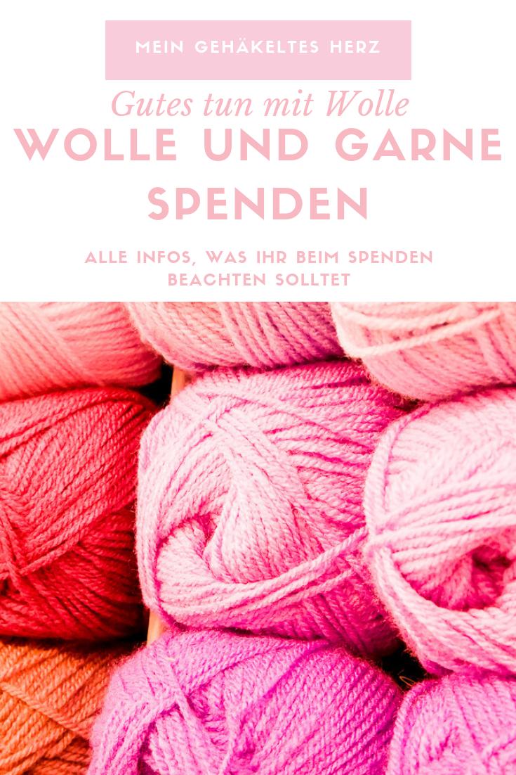 Gutes Tun mit Wolle und Garnen- das solltet ihr beim Spenden von handgemachtem und Wolle beachten