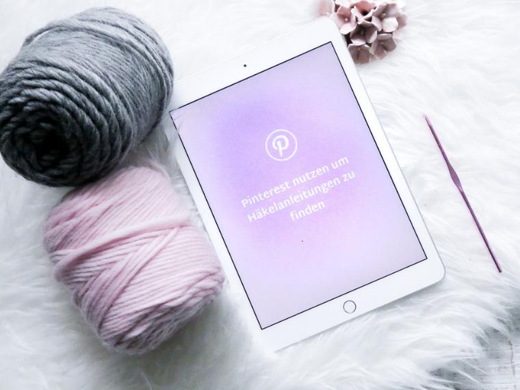 Pinterest nutzen um Häkelanleitungen zu finden und zu merken