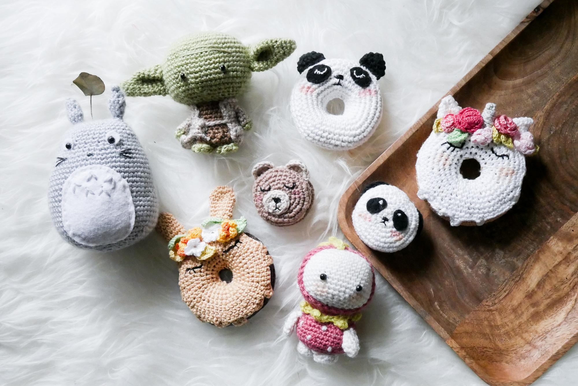 Wichtige Hilfsmittel um Puppen zu häkeln