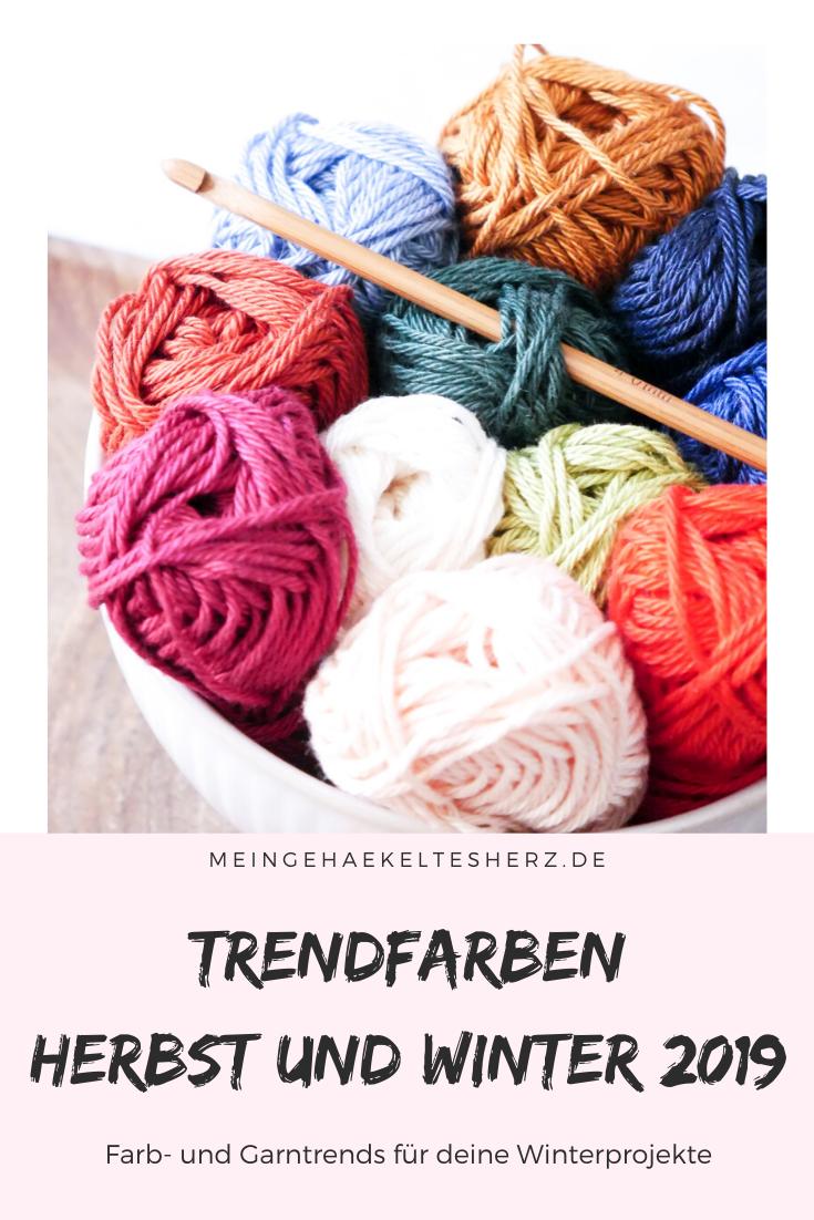 Trendfarben für den kommenden Herbst und Winter