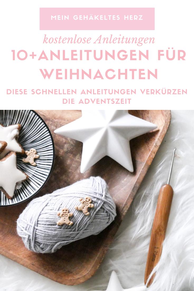 kostenlose Häkelanleitungen für weihnachten und Advent- Linkliste