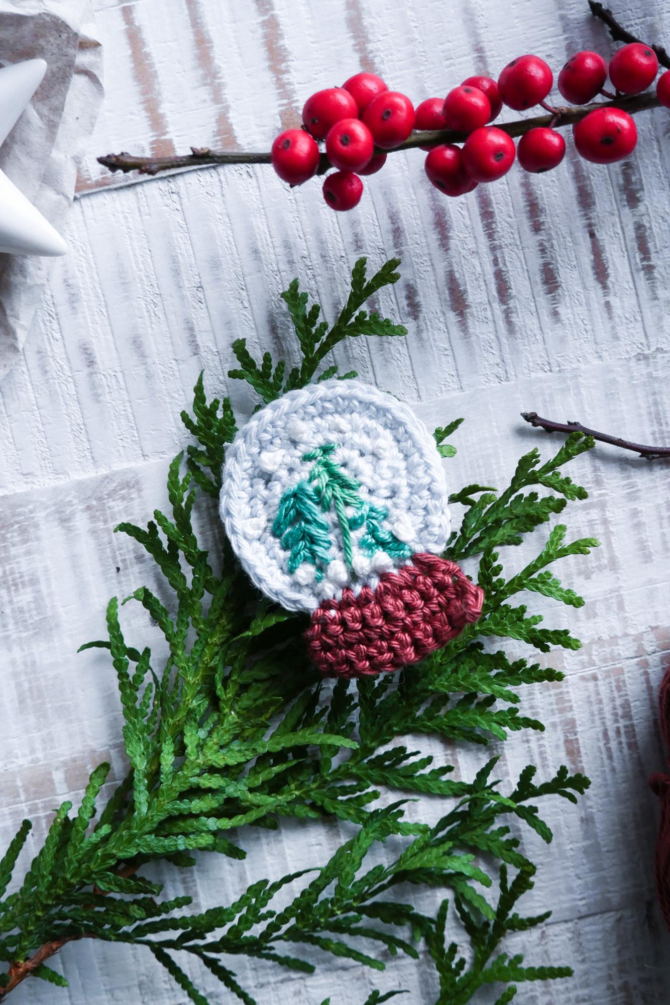 Kostenlose Häkelanleitung für Advent und Weihnachten