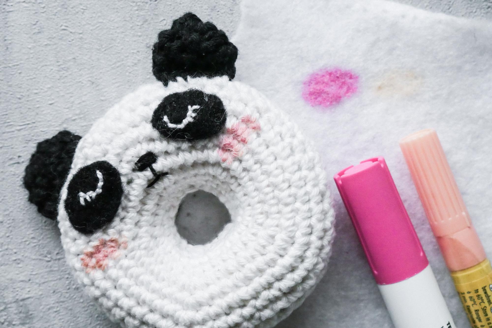 Textil Fasermaler für Amigurumi-Gesichter