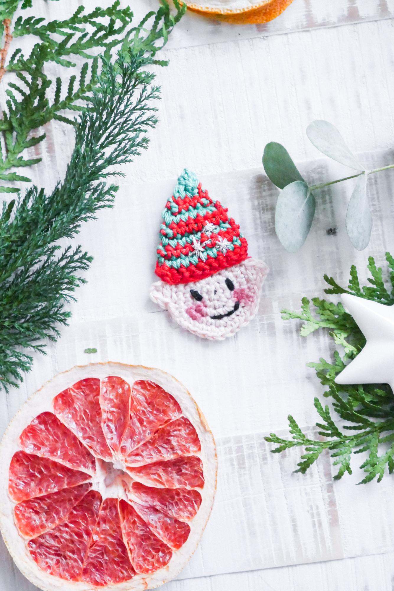 Kleiner Weihnachtself häkeln