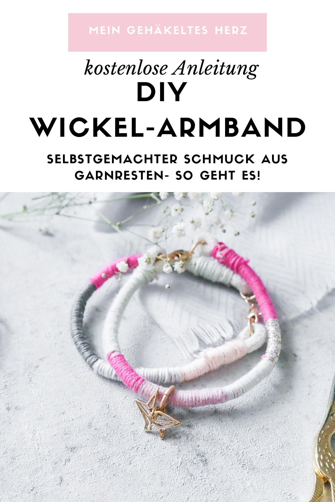 Armband DIY- Schnelles DIY Projekt für Garnresten
