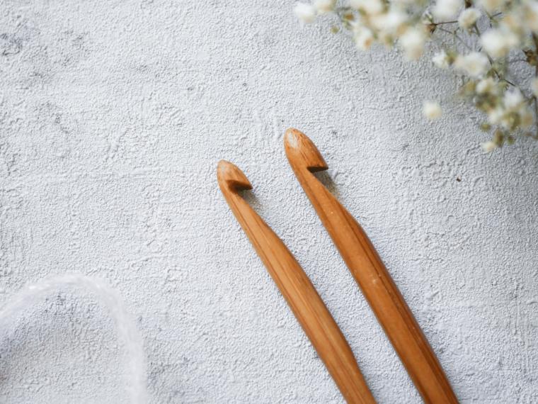 Bambusnadeln überarbeiten