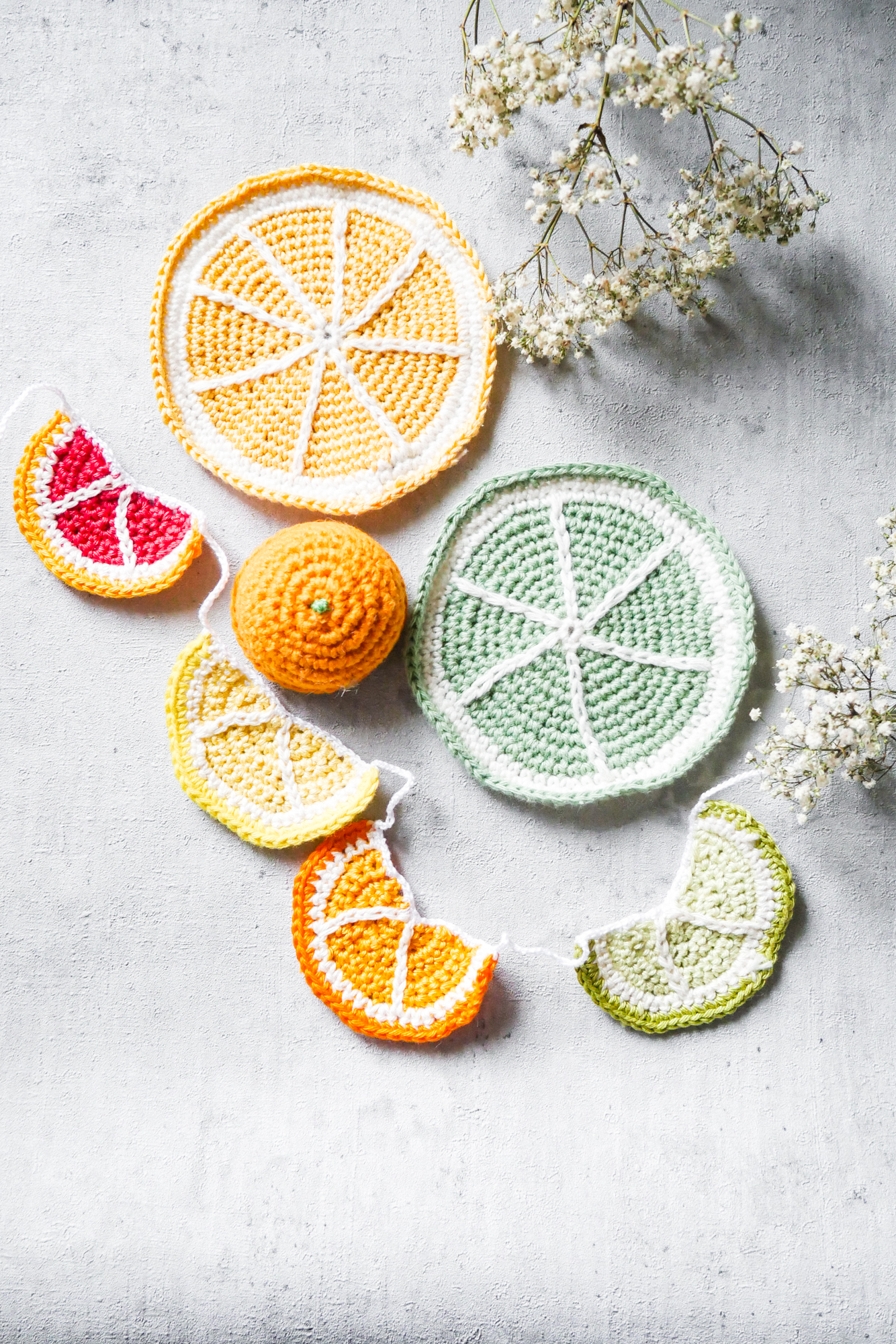 Zitronen häkelanleitungen