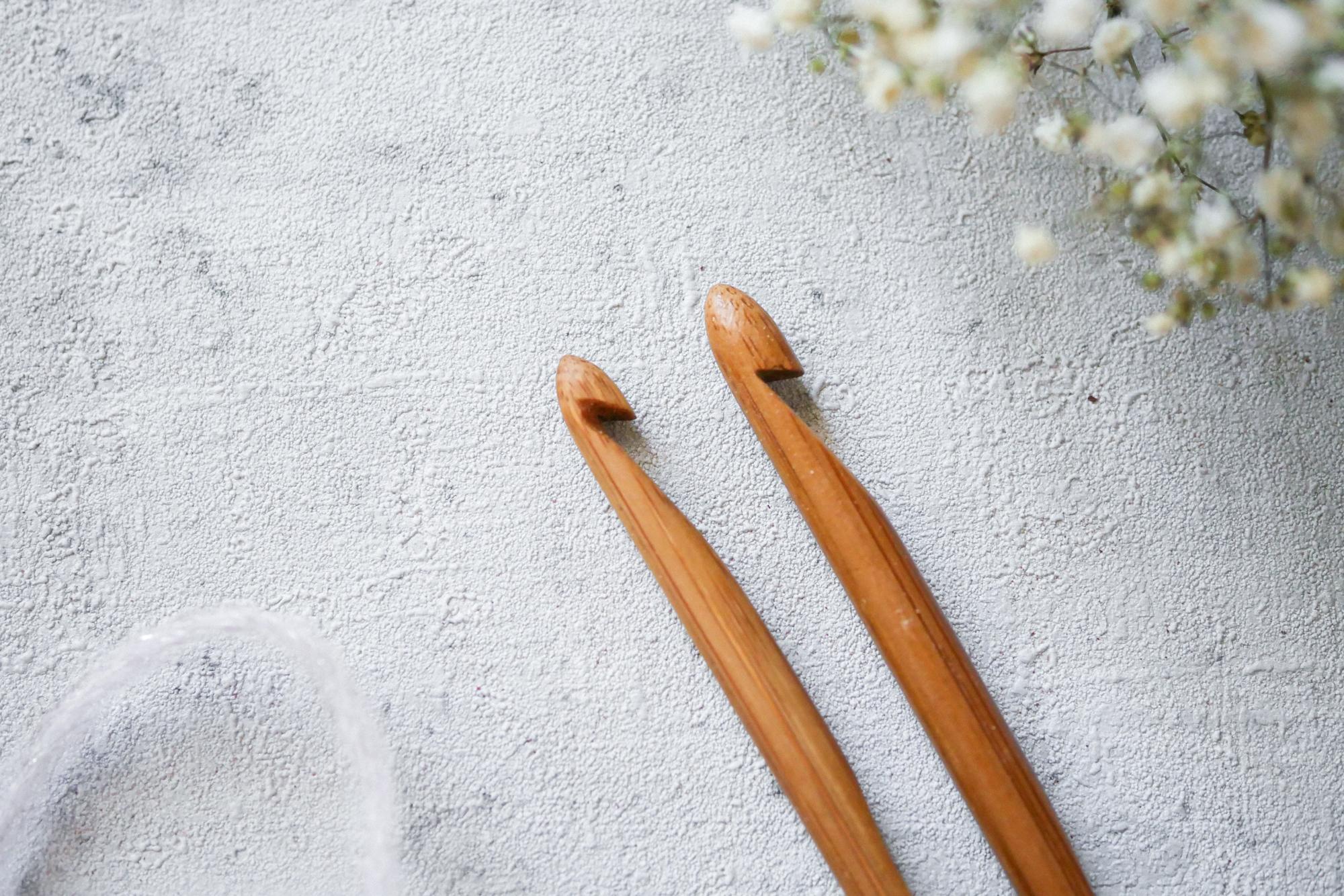 Bambushäkelnadeln nacharbeiten, geht das