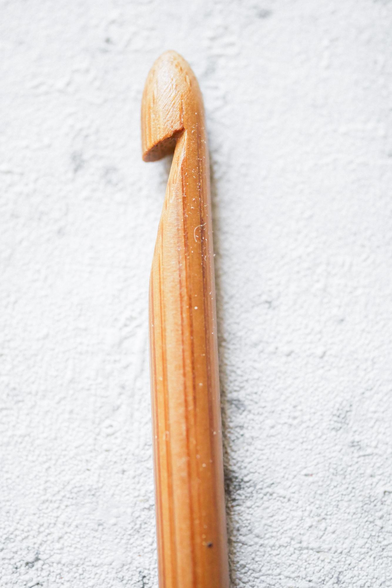 Bambusnadel überarbeiten, so geht es
