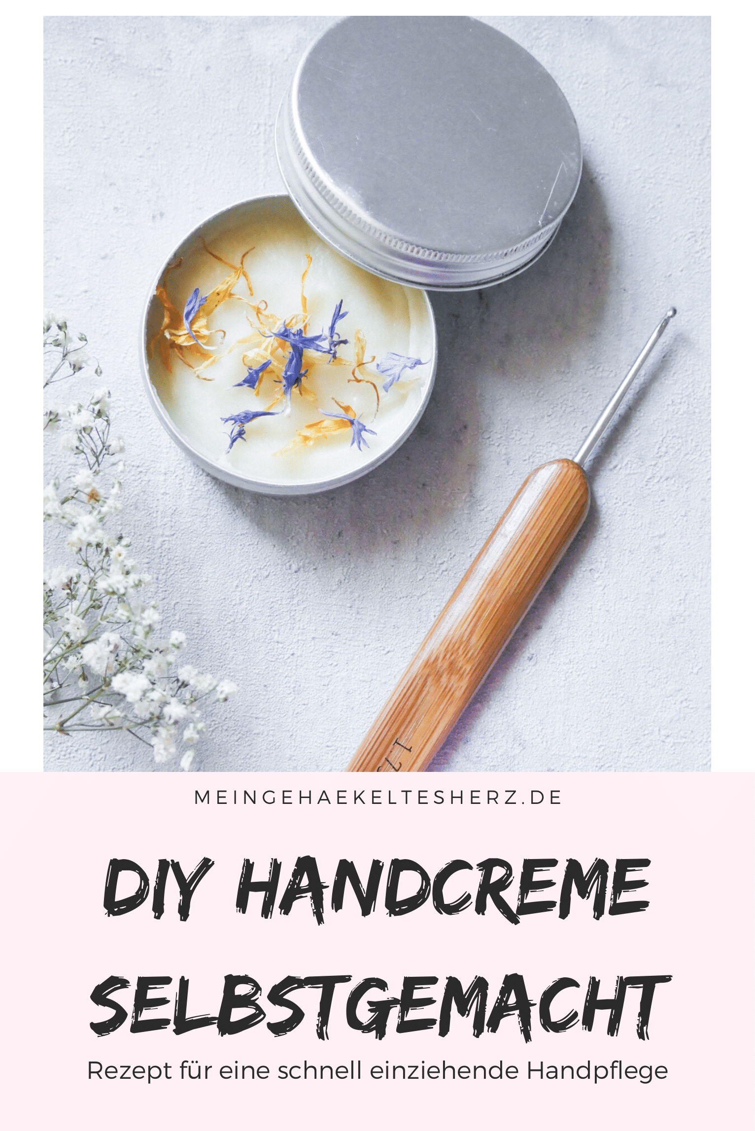 Handpflege selbst machen- schnelles DIY rezept für eine pflegende Creme