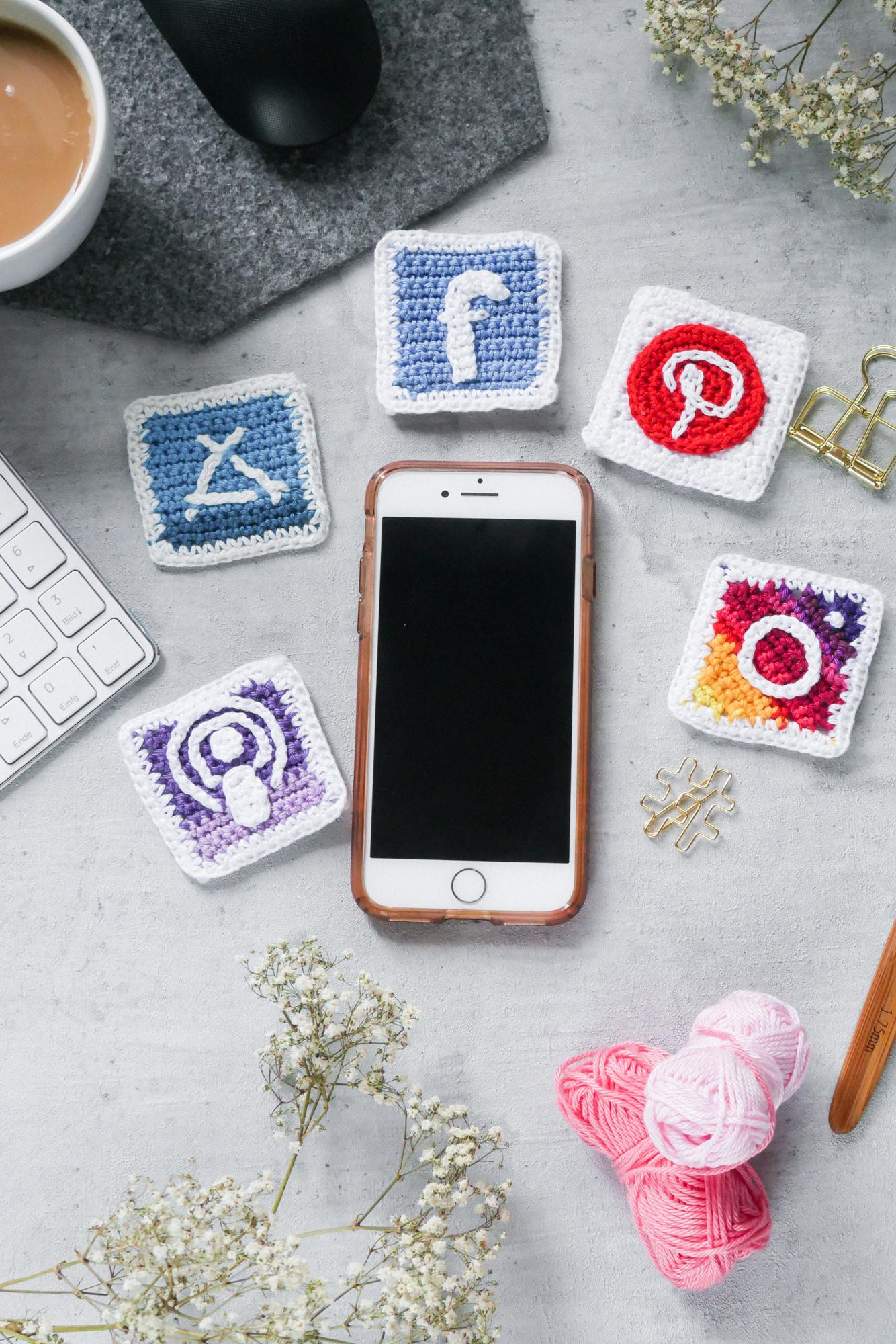 Apps fürs Smartphone-Häkeln und Stricken