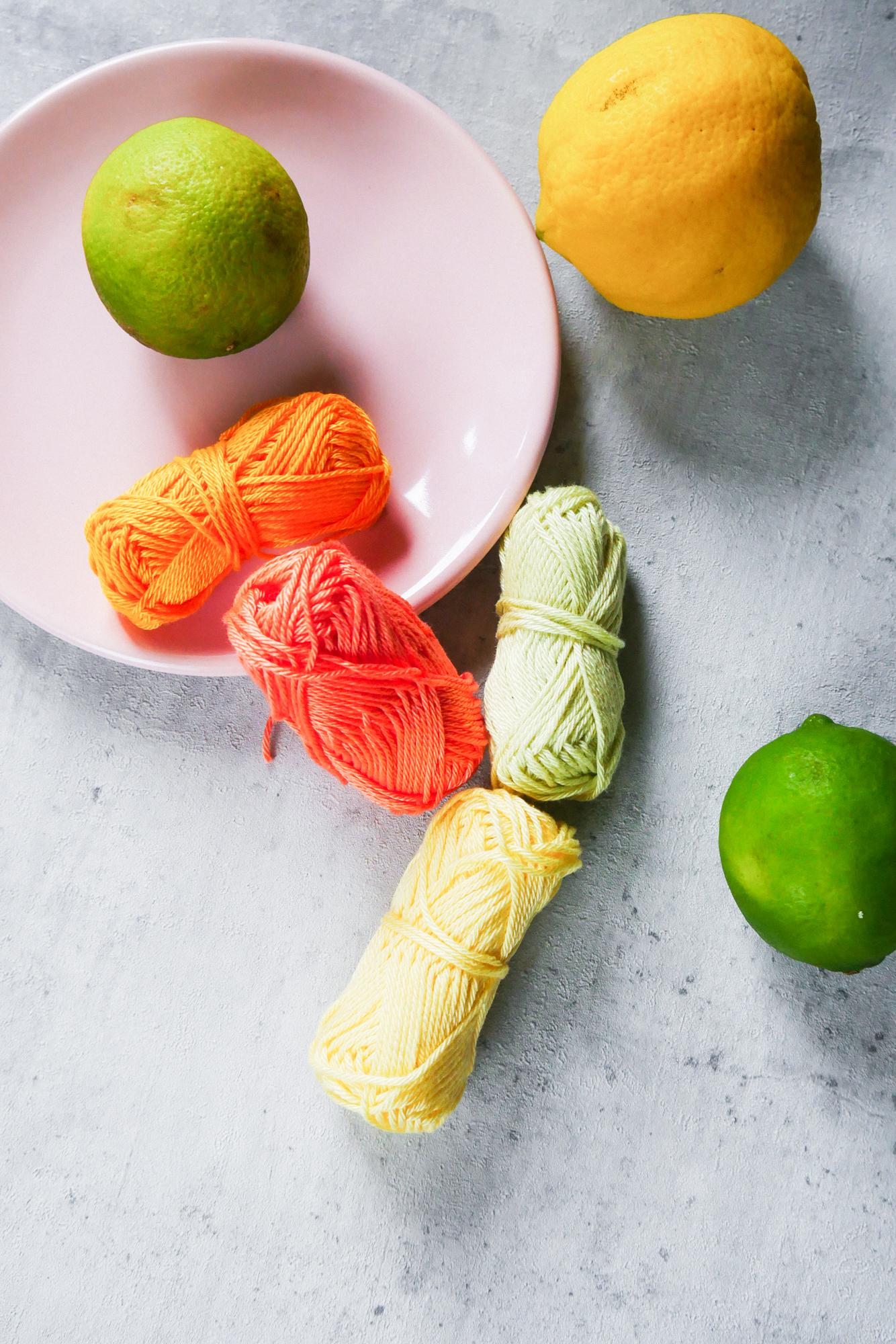 verschiedene Farben für Fruchtiges DIY