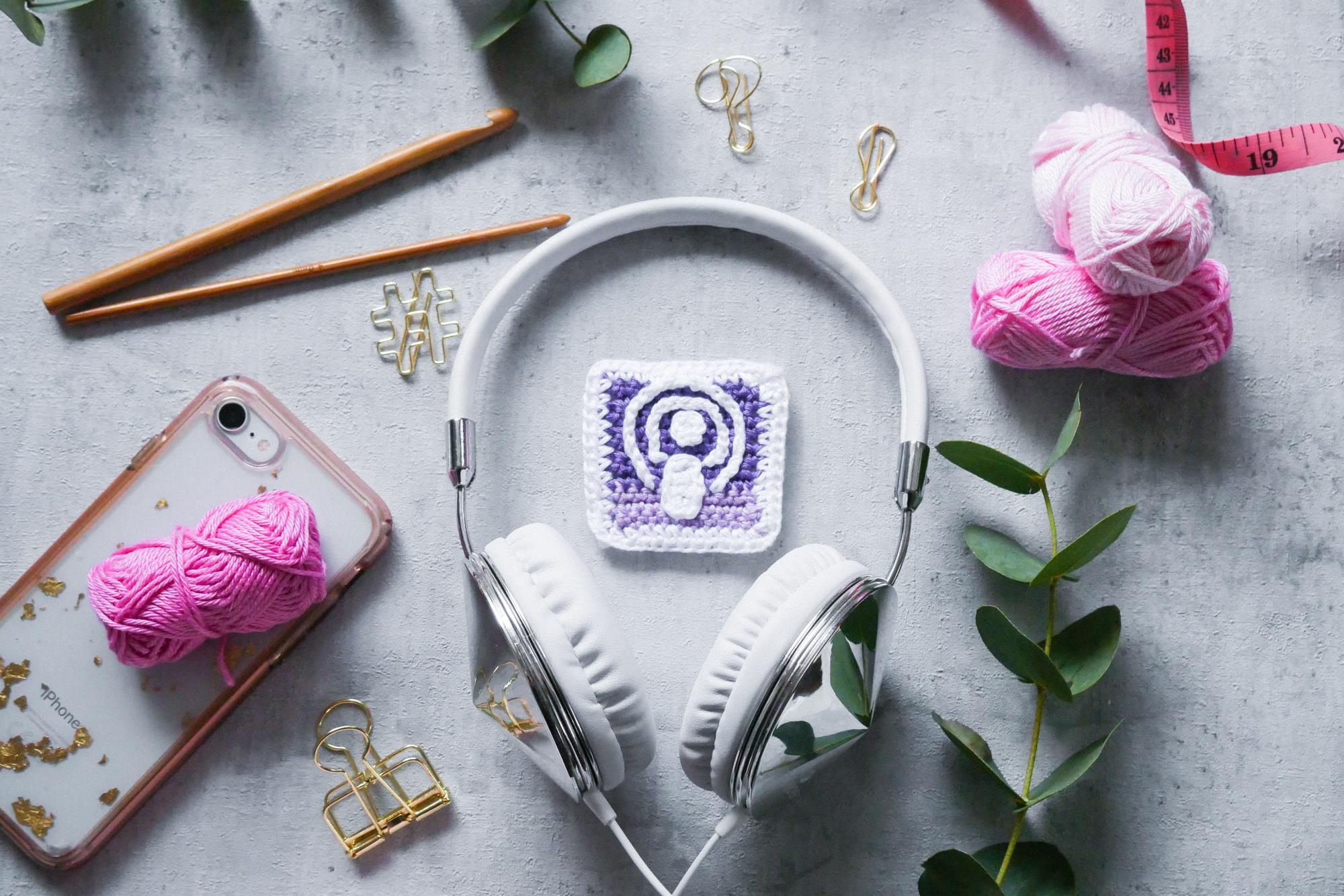 Podcast und Handarbeit